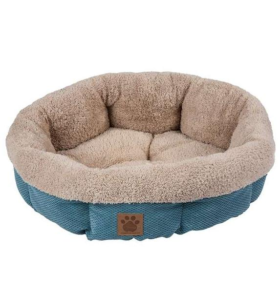 Petmate Precision Pet SnooZZy Mod Chic Stylish Round Cuddler