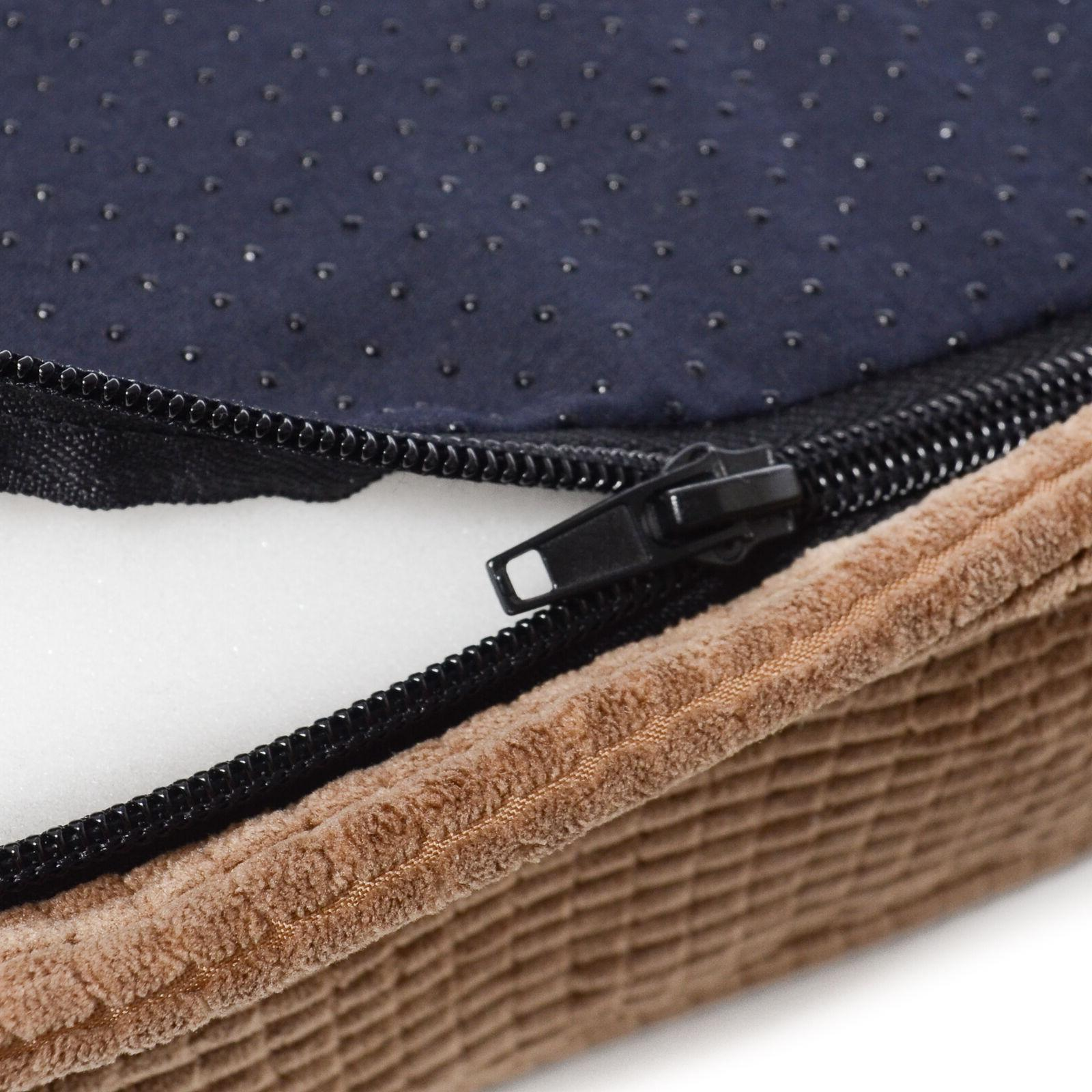 Milliard Quilted Padded Dog Bed, Foam Top