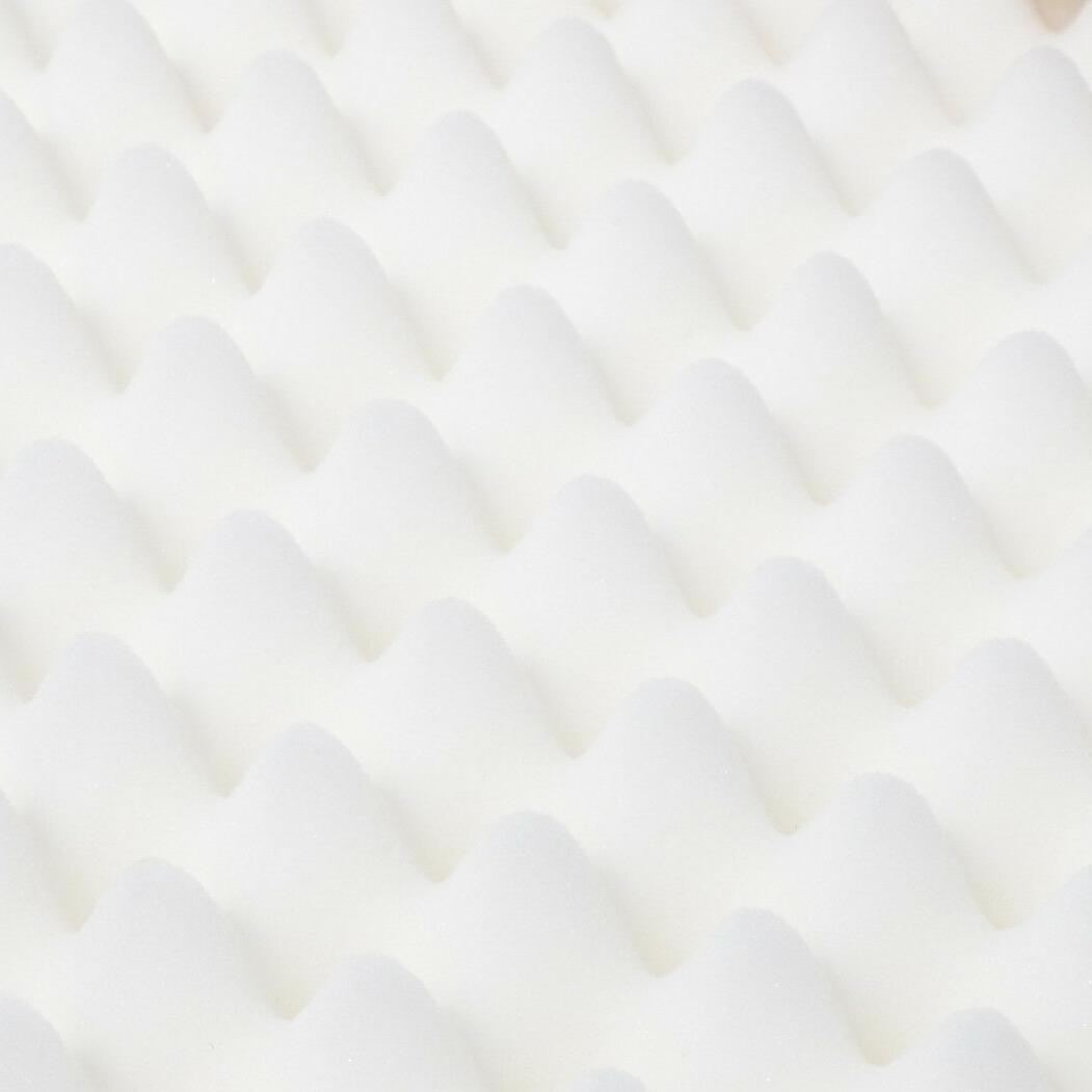 Dog Egg Crate Foam Plush Top