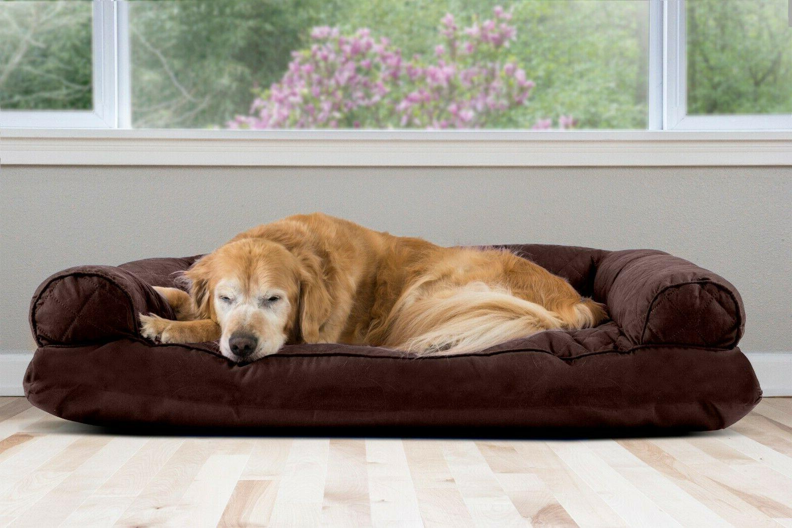 quilted pillow sofa dog bed pet bed