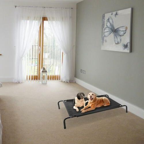 Elevated Dog Lounger Sleep Cat Raised Cot Indoor Outdoor