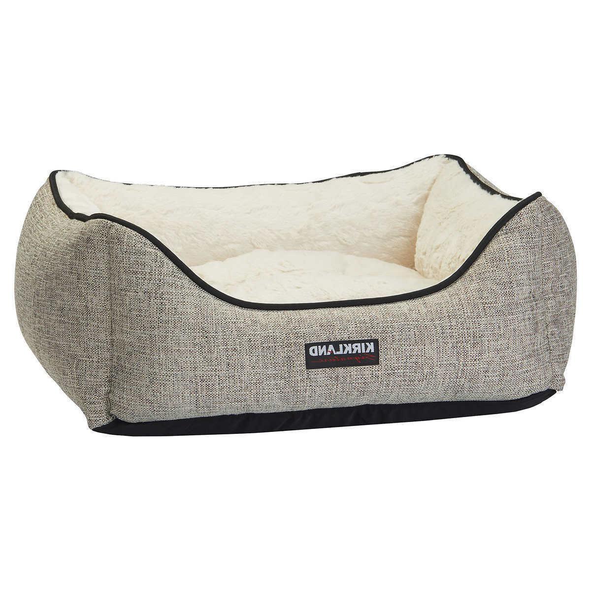 Kirkland Signature Rectangular Dog Bed, Pet, Grey
