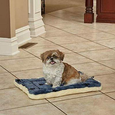 """MidWest Homes for Pets Reversible Print Pet Bed Blue Dog Beds 18"""""""