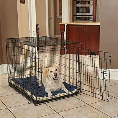 Bed in / White, Dog Measures 45.2L x 3.8