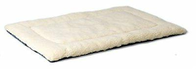 Reversible Paw Print Bed in Blue / White, Dog Measures 45.2L x 3.8