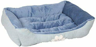 reversible rectangle pet bed