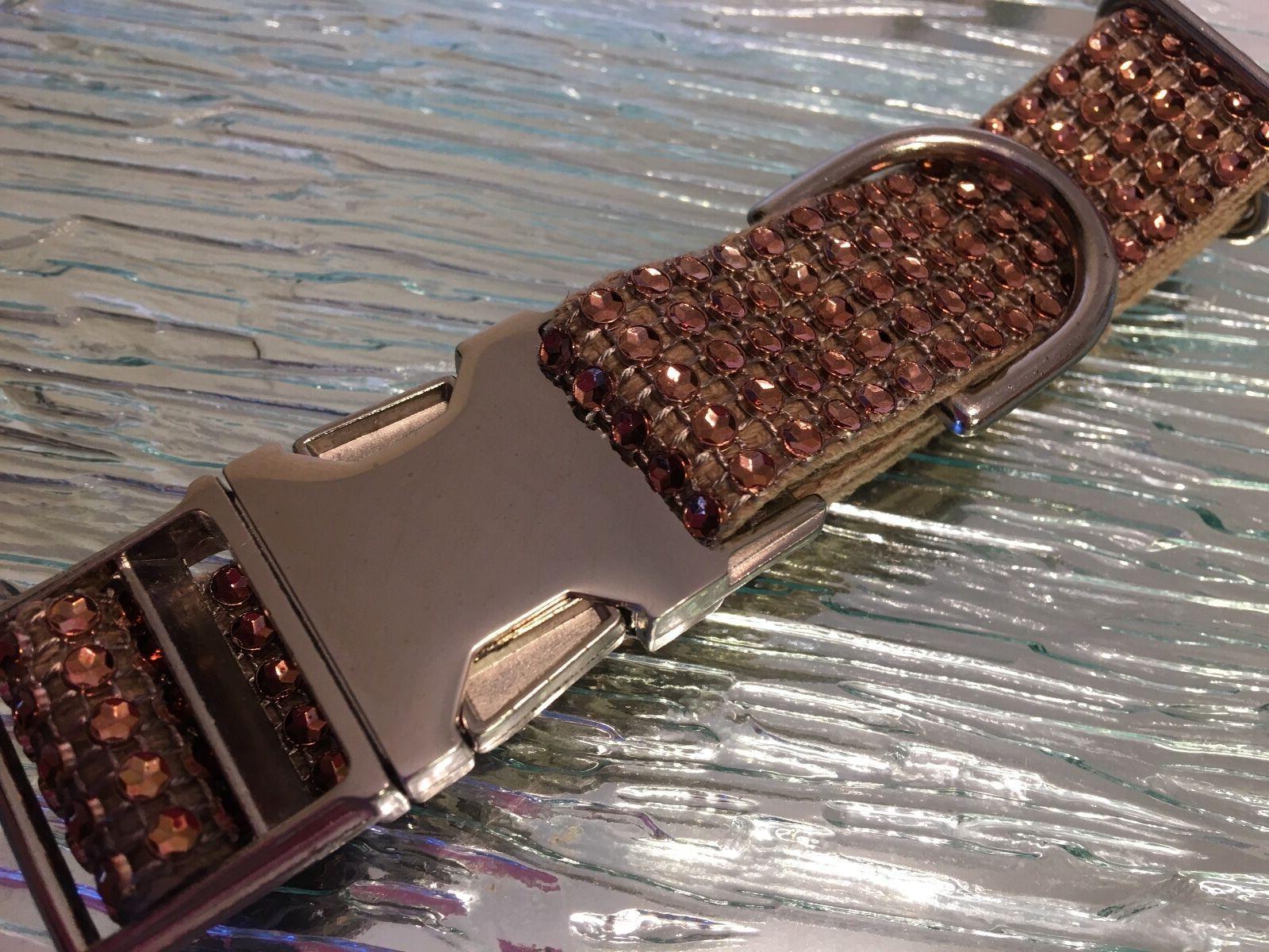 Rhinestone Collar Fancy Glam Handmade
