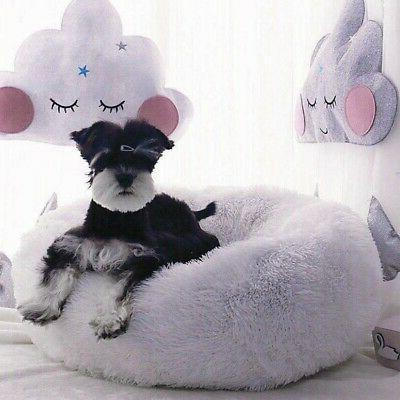 Donut Dog / Cat Soft Bed Kennel