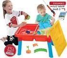 Sand and Water Table, Aquatic Arena Sandbox Activity Play Se