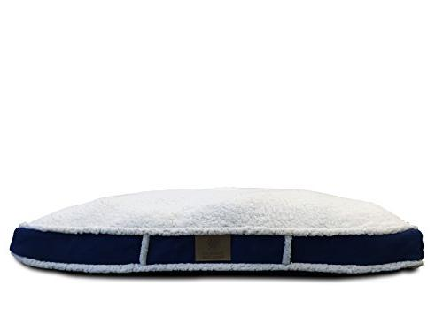 sherpa gusset pet bed