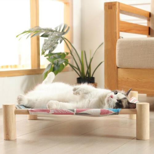Small Dog Pet Hammock House Canvas Lounge for Kitten Dogs