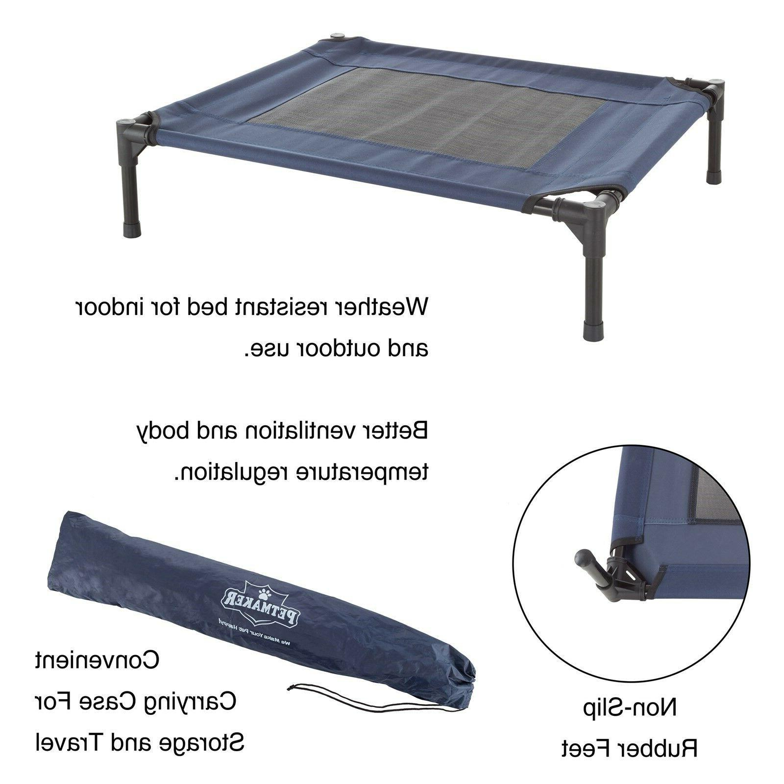 Small Med Bed Elevated Cot 30 24 Camping