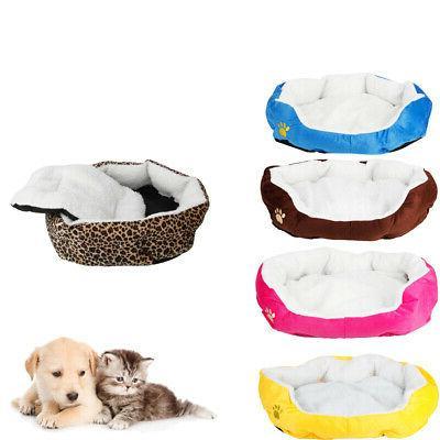 Small Medium Cozy Bed House Cotton Mat