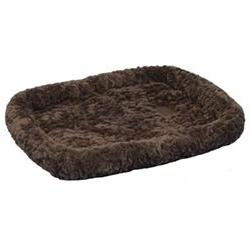 SnooZZy Cozy Crate Dog Bed in Chocolate - Size: X-Small