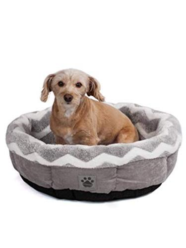 Precision Pet Petmate SnooZZy Zig Round Pet Bed Comfort 42701