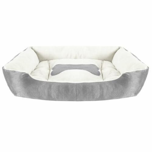 Soft Fleece Pet Bed Large Dog Cat Puppy Mat Cushion Cozy Kennel