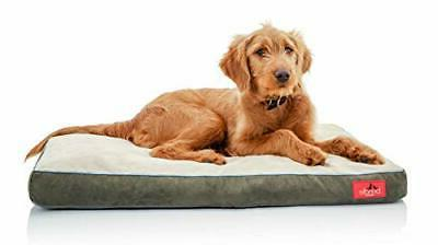 BRINDLE Soft Memory Foam Dog Bed with Removable Washable Cov
