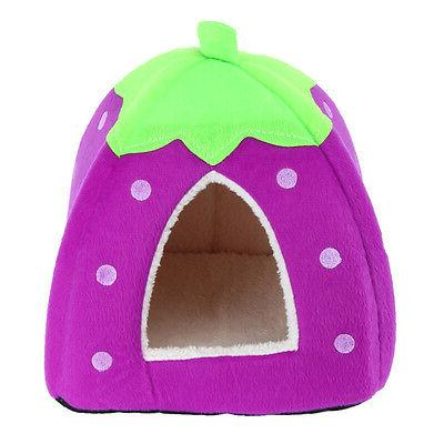 Soft Pet Dog Bed House Kennel Pad Mat S-XL