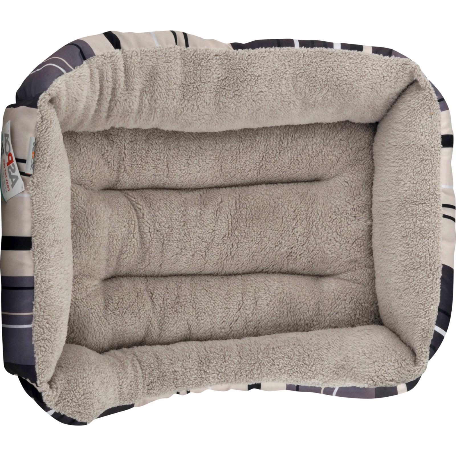 "ASPCA Striped Cuddler & Pet Medium, 20""x20""x8"", Gray"