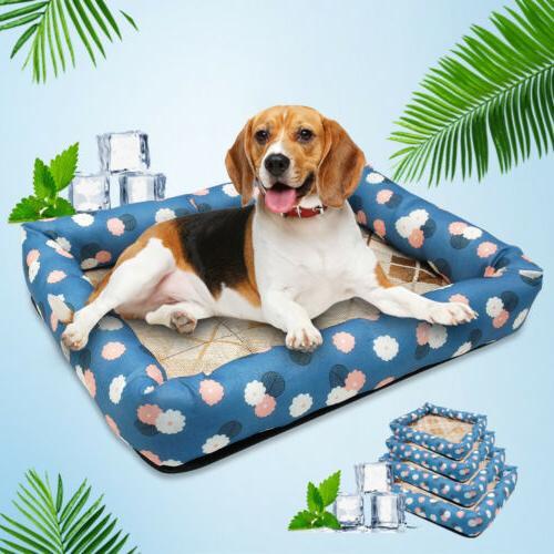 Dog Cat Sleeping Bed Mat For Summer Pet Puppy Waterproof Coo