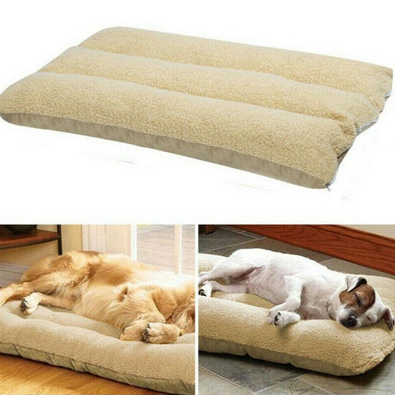 SUPER Large Pet Mattress Dog Pillow Mat Soft Winter Warm