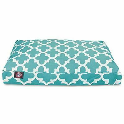 """Majestic Pet Trellis Rectangle Pet Bed size: 36""""L x 29""""W x 4"""