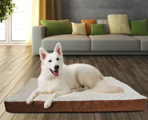 OxGord X-Large Ultra Plush Delux Pet Bed