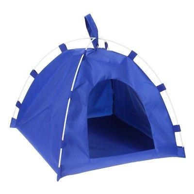 USA Portable Folding Dog Pet House Bed Tent Waterproof Cat I