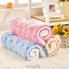 Warm Pet Mat Pads Small Large Paw Print Cat Dog Puppy Fleece