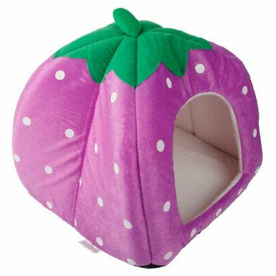 Warm Pet Dog Cat Bed Kennel Doggy Basket Pad