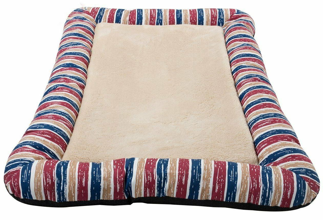 Washable Bolster Bed Crystal Cat Pad