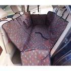 Waterproof Dog Seat Cover Backseat Pet Car SUV Seat Cover Ha