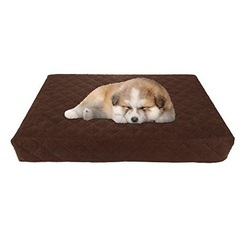 Waterproof Memory Foam Pet Bed- Bed with Slip and Washable 15
