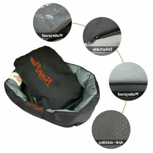 Waterproof Jumbo Orthopedic Sofa Dog Bed Mat Kennel Washable