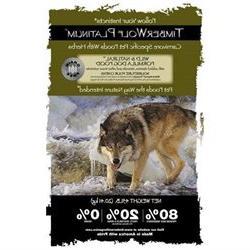 Wild & Natural Platinum Grain Free Dog Food-45lbs