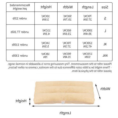 XL Pillow Plush Sherpa Pet Crate Foam
