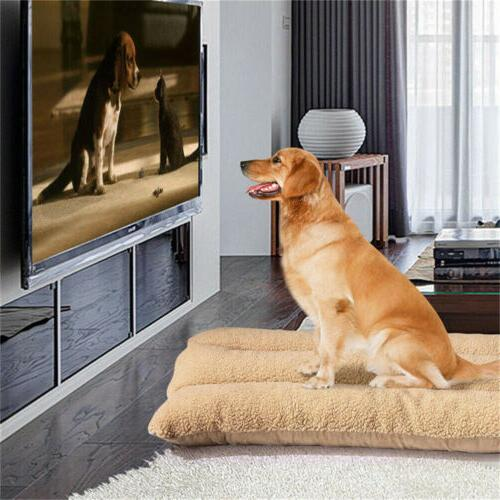 XXL Pet Bed Mattress Dog Cushion Pillow Mat Winter Warm