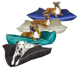 """Large Breed Washable Dog Bed 35"""" x 46"""" Giant Pet Pillow Poly"""