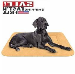Hero Dog Large Dog Bed Crate Pad Mat Washable Matteress Anti