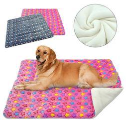 Large Dog Bed Indestructible Winter Plush Cushion Sleeping M