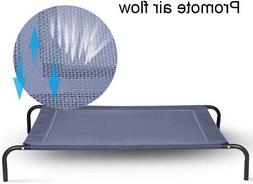 large dog cat bed elevated pet cot