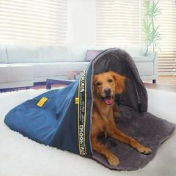 Hoopet Large Dog Sleeping Bag Bed Kennel Sofa House Puppy Ca