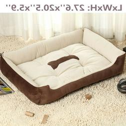 Large Pet Bed Dog Cat Cushion Nest Puppy Soft Warm House Ken