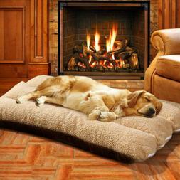 large pet bed mattress dog cushion pillow