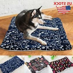 Large Pet Dog Cat Bed Cushion House Soft Warm Kennel Dog Mat
