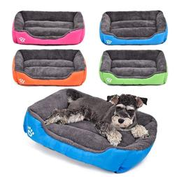 Large Pet Dog Cat Bed Puppy Cushion House Pet Soft Warm Kenn