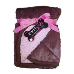 PetProjekt LBBDT766 Large Dogthro Pet Blanket, Brown and Ber