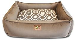 Lounge Bed Bolster, Small/Medium - 30 L x 23 W, Coco-Flicker