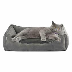 Love's cabin Large Dog Bed with Removable Washable Cover, Cu