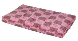"Bowsers Luxury Dog Crate Mattress, Tickled Pink, XXL 30""x48"""